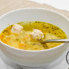 Щи с фрикадельками - готовое блюдо