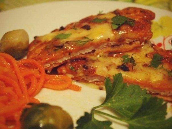 готовое блюдо - свинина по румынски