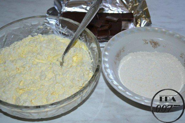 Готовим сырники с шоколадом