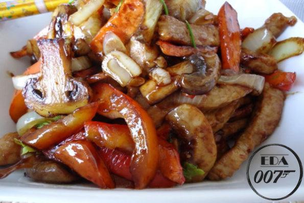 Свинина Stirfry - готовое блюдо