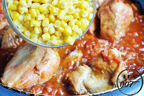 Цыплёнок на скоровородке