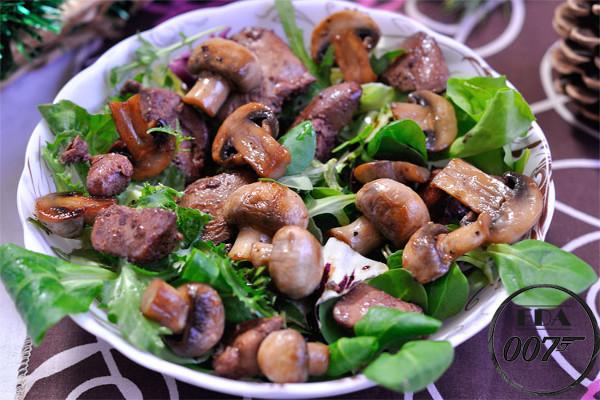 Салат Прованс - готовое блюдо