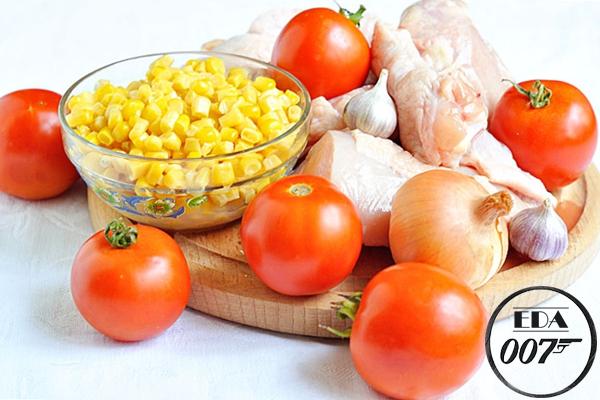 Ингредиенты для цыплёнка