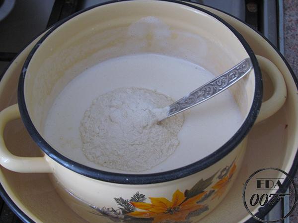 рецепт приготовления молочного торта 4 мука