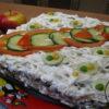 Салат курочка ряба - готовое блюдо
