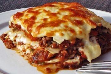 готовое блюдо - Лазанья домашнего приготовления