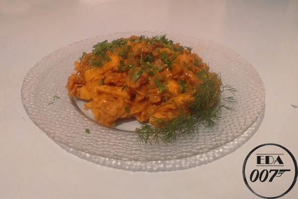 Овощное рагу из картофеля и капусты