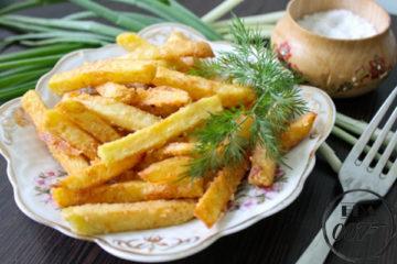 Картофель фри по домашнему