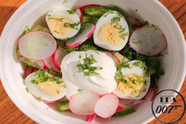 Салат Лето - готовое блюдо