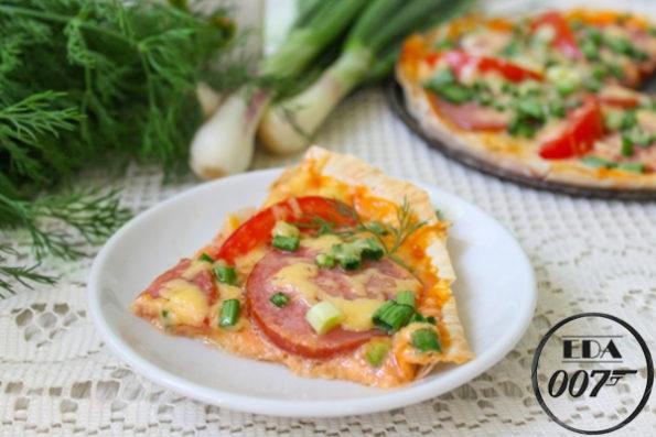 Пицца по домашнему