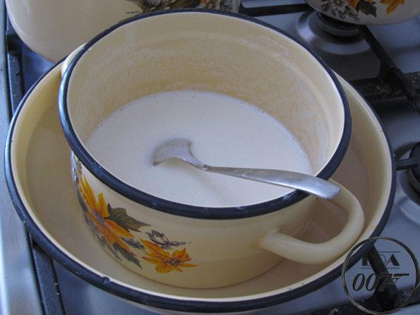 рецепт приготовления молочного торта 3 водяная баня