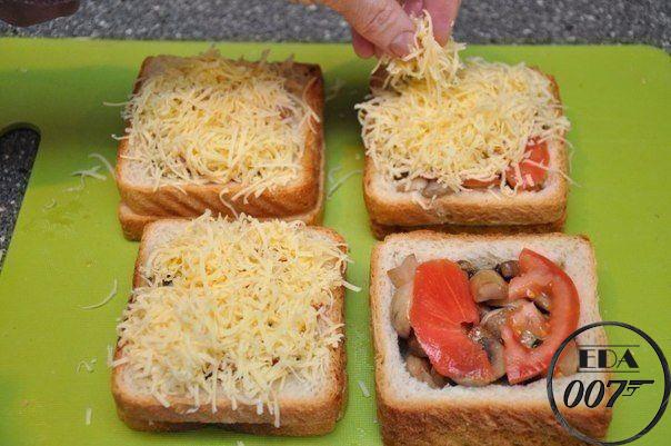 Необычные и вкусные бутерброды